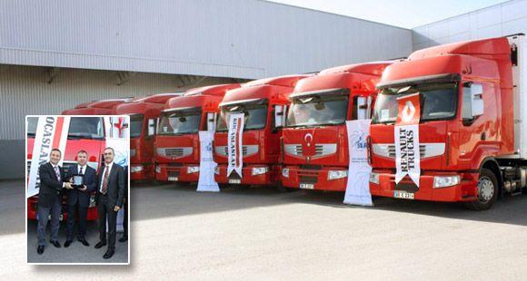 Sarp Lojistik Filosunu Renault Trucks İle Genişletti