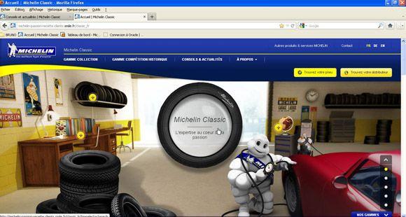 Michelin'den  Klasik Otomobil Hayranlarına Danışmanlık Hizmeti