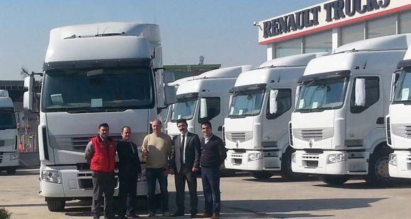 Atako Taşımacılık Filosunu Renault Trucks İle Güçlendirdi