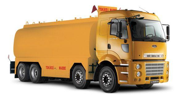 Ford Cargo Yeni 8x2 Yol Serisi Yenilendi