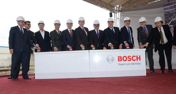 Bosch Yeni Fren Sistemleri Fabrikasının Temelini Attı