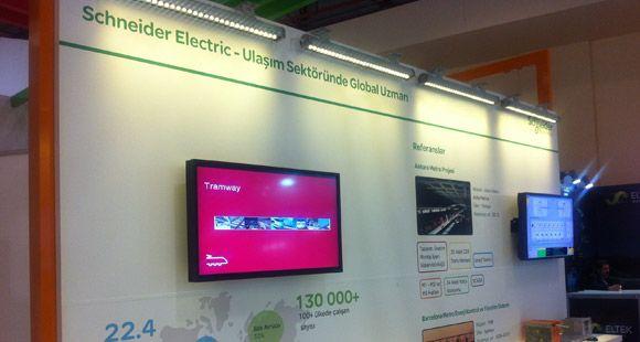 Schneider Electric Eurasia Rail Fuarı'na Katıldı