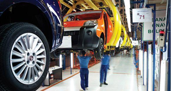 Otomotiv Sanayinin Toplam İhracatı Yüzde 6 Oranında Arttı