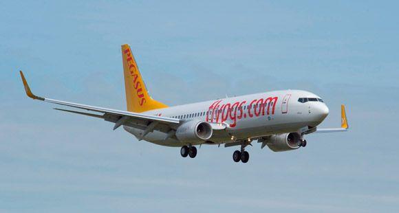 Pegasus'un Hamburg Uçuşları Başlıyor