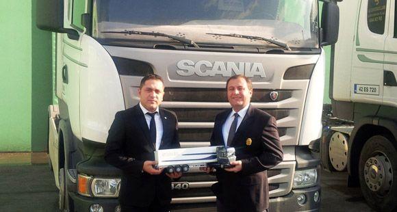 Konya Ağır Vasıta'dan 4 Firmaya Scania Teslimatı