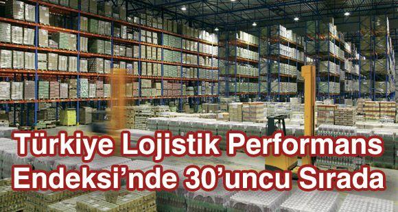 Türkiye Lojistik Performans Endeksi'nde 30'uncu Sırada