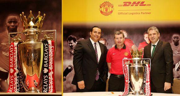 Manchester United'ın 20'nci Lig Kupası DHL ile İstanbul'da