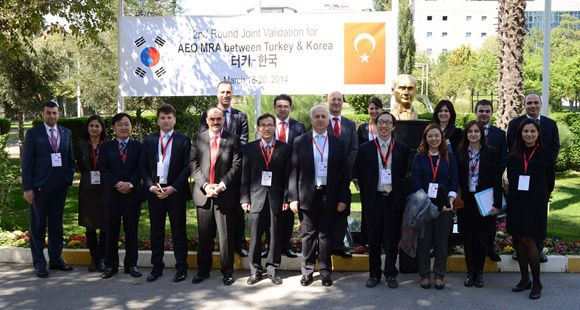 Omsan AEO Hakkında Güney Kore'li Gümrük Yetkilileri'ne Bilgi Verdi