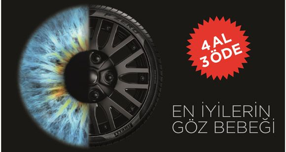 Pirelli'den Anadolu Sigorta Poliçe Sahiplerine Özel Kampanya