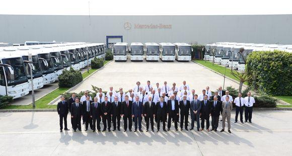 PRNS Taşımacılık Filosunu Mercedes-Benz Tourismo İle Güçlendirdi