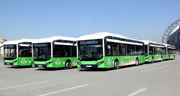 TCV Busworld 2014'te Toplu Taşıma Sektörü İle Buluşuyor
