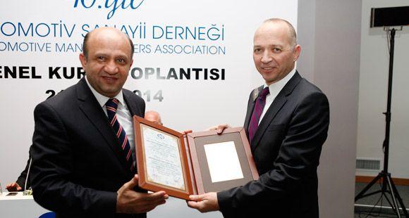 Brisa'ya OSD'den Yan Sanayi Başarı' Ödülü
