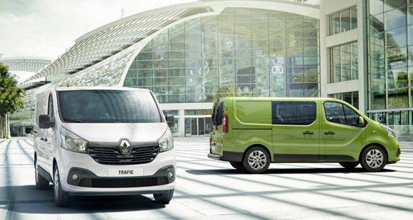 Renault Yeni Trafıc Modelini Yeniliyor