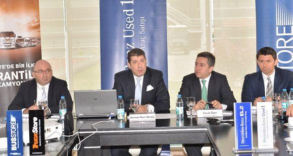 Mercedes-Benz Türk'ün 2'nci El Ticaret Hacmi Yüzde 27 Arttı