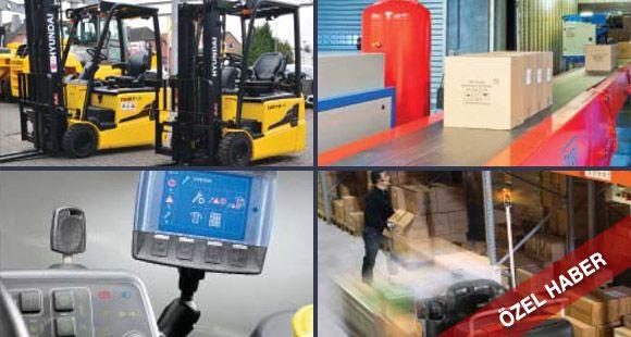 Elektrikli Güçlü Forkliftler ve Akıllı Sistemler Geleceğe Damgasını Vuracak