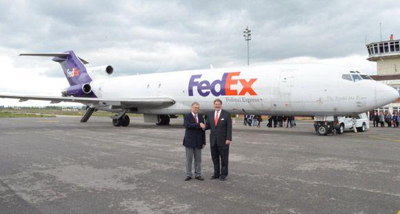 FedEx Express Eğitim İçin Anadolu Üniversitesine Uçak Hibe Etti