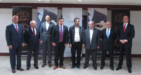 Mercedes-Benz Türk Konya'da Altın Sadakat Rozetlerini Dağıttı