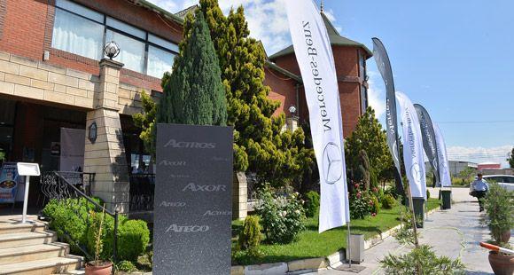 Mercedes-Benz Kamyon Şoförlerine Özel Dinlenme Salonu Açtı