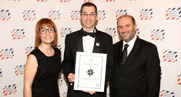 Alışan Lojistik 'Uluslararası İş Güvenliği' Ödülü Aldı