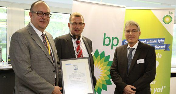 BP Ultimate Euro Diesel'e TÜV Rheinland'den Sertifika