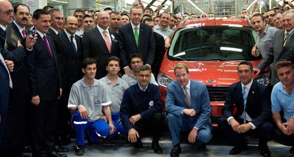 Ford Yeniköy Fabrikası'nda Dünya Pazarı İçin Courier Üretimine Başladı