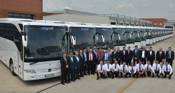 Mesnevi Turizm Filosunu Mercedes-Benz Tourismo İle Güçlendirdi