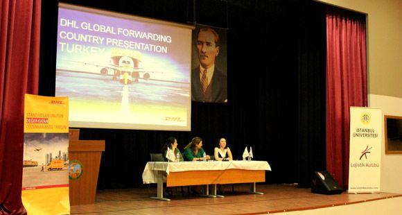 DHL Lojistik Zirvesi'nde Öğrencilerle Buluştu