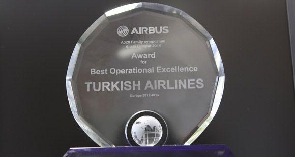 THY 'Avrupa'nın En İyi Operasyonel Mükemmellik' Ödülünü Aldı