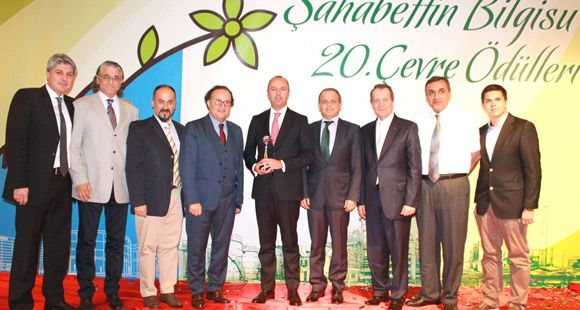 Türk Pirelli'ye Çevre Ödülü