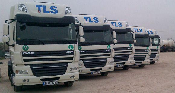 TLS Lojistik 5,5 Milyon Avro'luk Araç Yatırımını Tamamladı