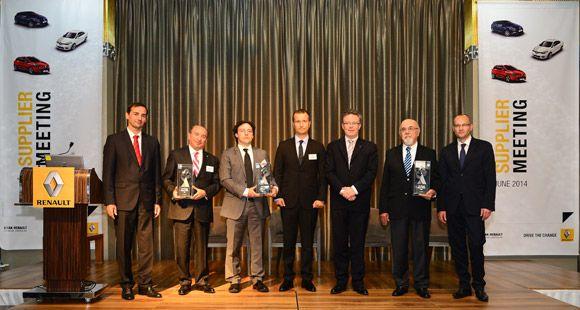 Brisa'ya Oyak Renault Yan Sanayi Başarı Ödülü
