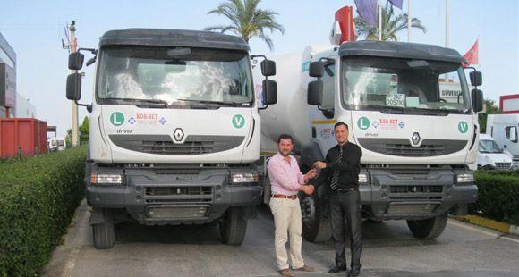 KOR-BET Tercihini Renault Trucks'tan Yana Kullandı