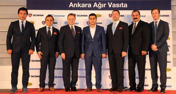 Ankara Ağır Vasıta'nın Yeni Tesisi İzmir'de Açıldı