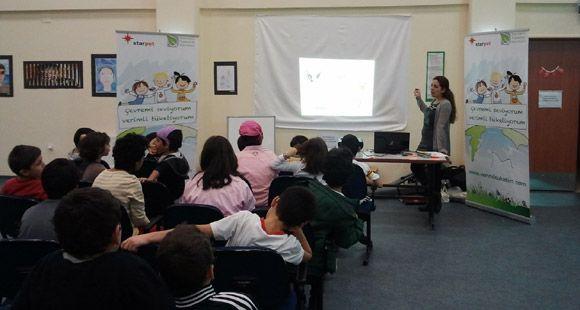 Starpet 5 Bini Aşkın Çocuğa Çevre Eğitimi Verdi