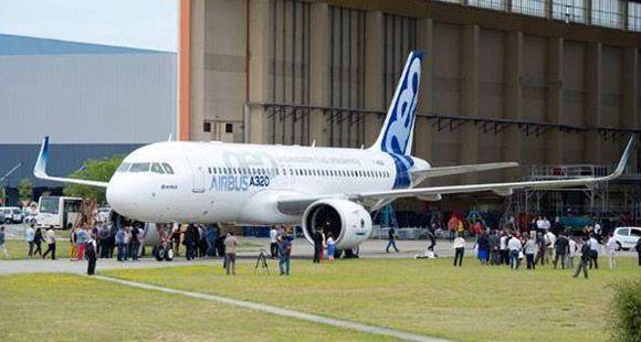 Airbus'ın ilk A320neo Uçağının Montajı Tamamlandı