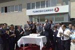 THY Kargo Ek Hizmet Binası Törenle Açıldı
