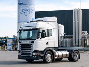 Scania Doğalgaz İle Çalışan Motor Satışlarına Başlıyor