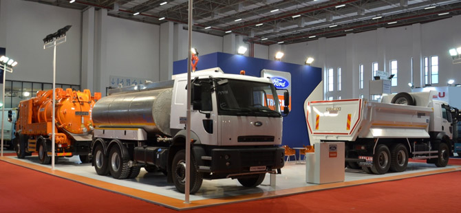 New Ford Trucks >> Ford Trucks Kent Expo 2016'ya Geniş Ürün Gamıyla Katıldı