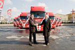 Renault Trucks'tan Mars Lojistik'e 200 Adetlik Dev Teslimat