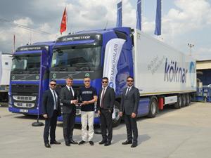 Köknar Uluslararası Taşımacılık Filosu Volvo Trucks İle Güçlendi