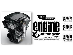 """PSA Grubu'nun 1,2 litre hacimli 3 silindirli Turbo PureTech benzinli motoru bir kez daha """"Yılın Motoru"""" ödülünü aldı"""