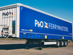 P&O Ferrymasters Invests In 150 New Huckepack Trailers o Lift Capacity On Central Europe To Rotterdam Rail Service