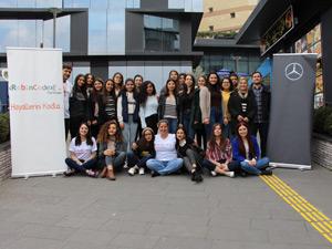 Mercedes-Benz Türk'ün Yıldız Kızları Kodlama Eğitimi Aldılar