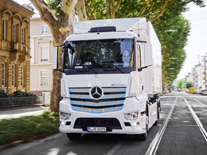Mercedes-Benz eActros Kamyonların Test Programı Başladı