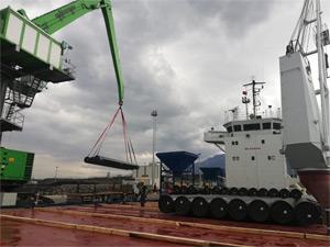 Bulgaristan, Romanya, Macaristan ve Avusturya (BRUA) Doğal Gaz Boru Hattı'nın Romanya Operasyonları Arkas Lojistik'e Emanet