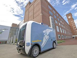 Goodyear ve Local Motors Sürücüsüz Servis Araçlarında İşbirliğine Gidiyor
