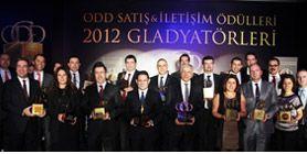 ODD Satış Ve İletişim Ödülleri 2012 Gladyatörleri Sahiplerini Buldu