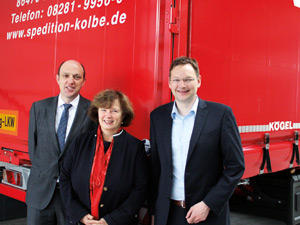 Bavarian Minister for Construction and Transport, Dr. Hans Reichhart, visits Kögel