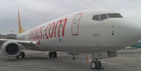 Pegasus Hava Yolları'nın Filosuna Katılan Yeni Uçağı 'Almira' Oldu