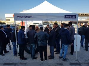 Prometeon Türkiye, Gebze'de Kamyon Şoförleri İle Buluştu